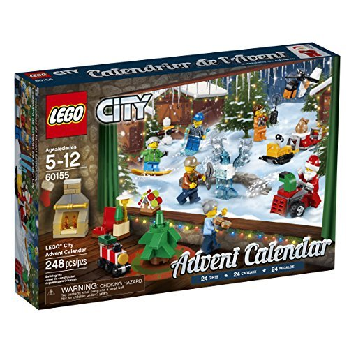 LEGO City Advent Calendar 60155 Building Kit (248 (Brick Calendar)