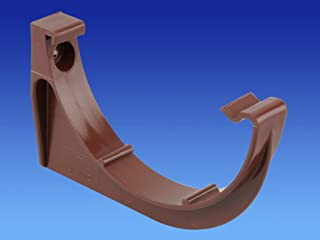 OSMA Wavin Roundline supports de gouttière Lot de 3 Brun 0t019 112 mm x 3 n