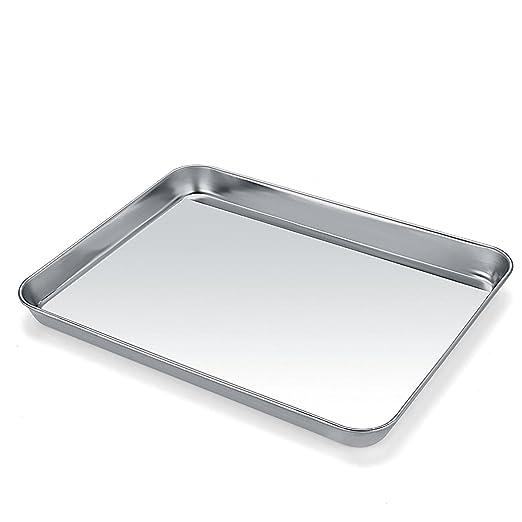 Umite Chef - Bandeja para horno de tostadora (acero inoxidable ...