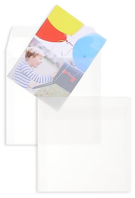 Sobres transparentes con tiras adhesivas, premium, para ...