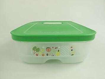 Tupperware Biomüll tupperware kühlschrank 1 8 l dunkelgrün klimaoase flach primaklima