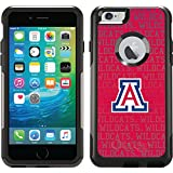 Coveroo Commuter Series Cell Phone Case for iPhone 6 Plus - Retail Packaging - Arizona Wildcats Repeat