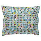 Roostery Loteria Tarot Cards Mexico Mexican Tarot Cards Spanish Pillow Sham