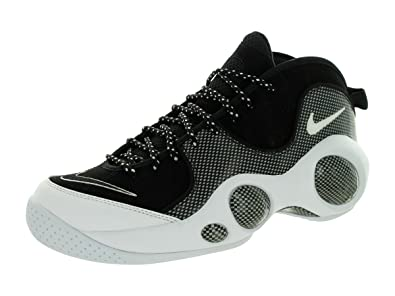 best service 7ddc0 9bdbf Nike Mens Air Zoom Flight 95 SE, BLACKWHITE-METALLIC SILVER, 8