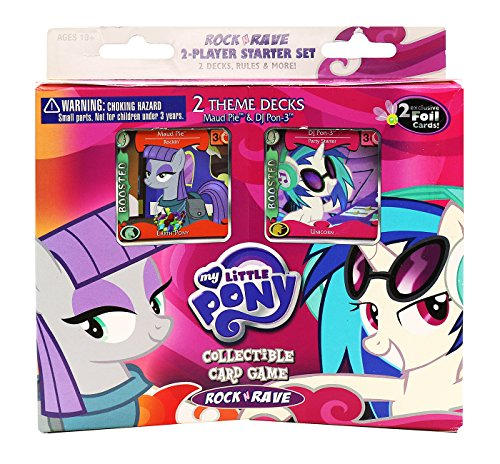 Ccg 2 Player Starter Deck - My Little Pony CCG: Rock 'n Rave 2-Player Starter Set