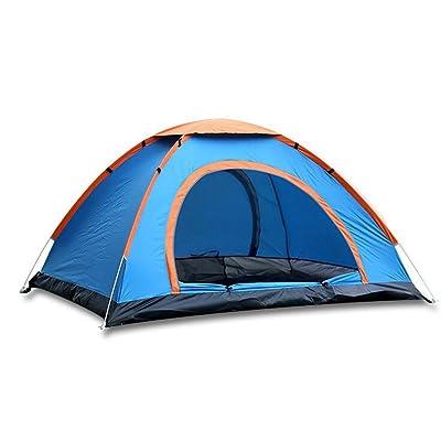 TTYY Tente Automatique 3 ~ 4 Personnes De Camping En Plein Air Pique-Nique De Pêche Imperméable À L'eau