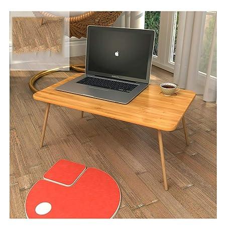 NUODE-Table Mesa de Cuaderno Plegable Dormitorio portátil Pequeño ...