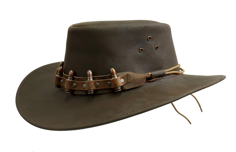 Kakadu Traders Lederhut Lederhut Lederhut Bullet 2.Wahl B07NGN3MXB Cowboyhüte Wert 8cad1f