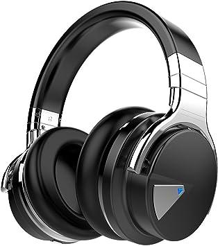 cowin Auriculares Bluetooth E7 con micrófono, Hi-Fi, graves ...