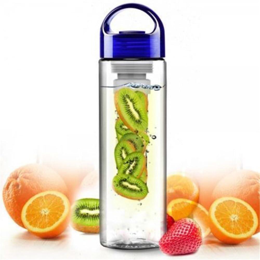 NYKKOLA 800 ml botella deportiva zumo Infuser infundirle botella de agua la tapa del tirón fabricante BPA taza libre