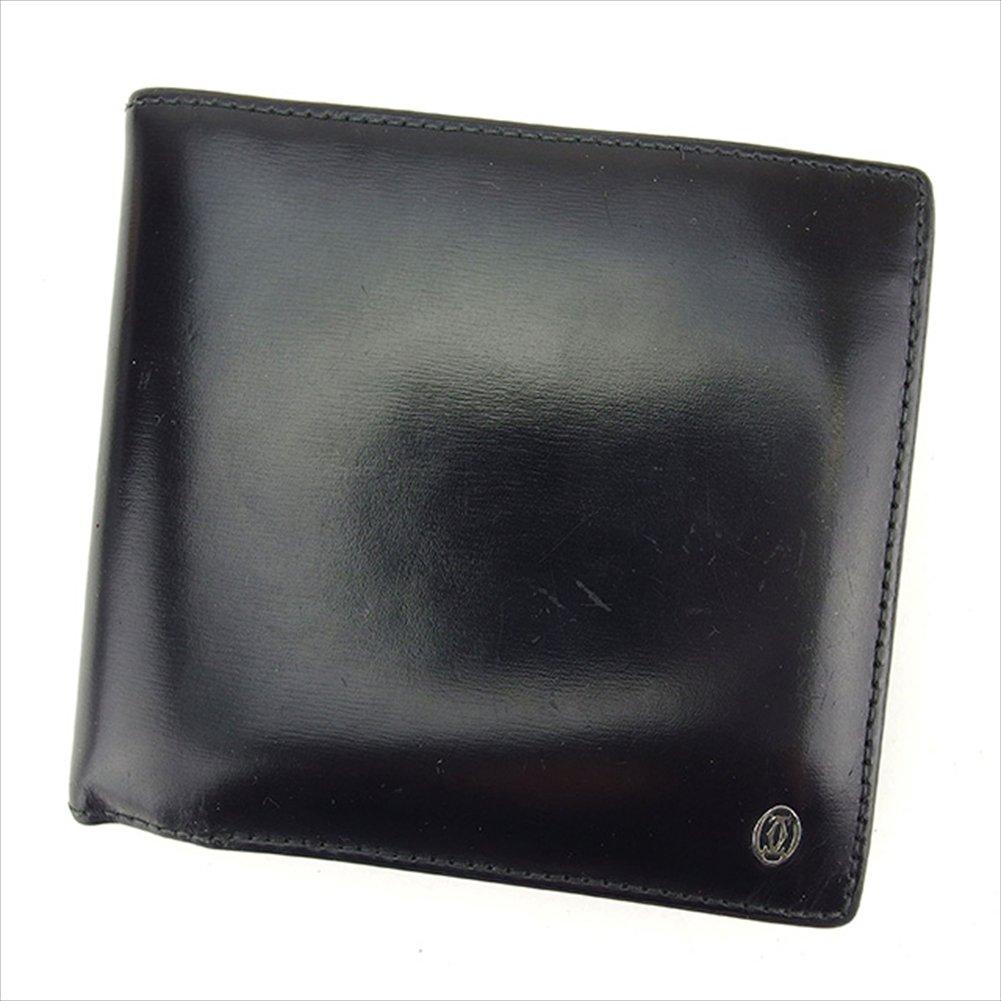 (カルティエ) Cartier 二つ折り財布 財布 ブラック×シルバー パシャ メンズ 中古 T1412   B0772PTZSQ