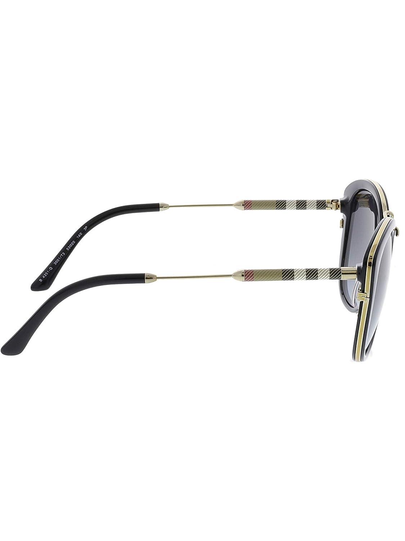 3d2827353de2bc Burberry Women s Polarized BE4251Q-3001T3-53 Black Cat Eye Sunglasses   Burberry  Amazon.ca  Watches
