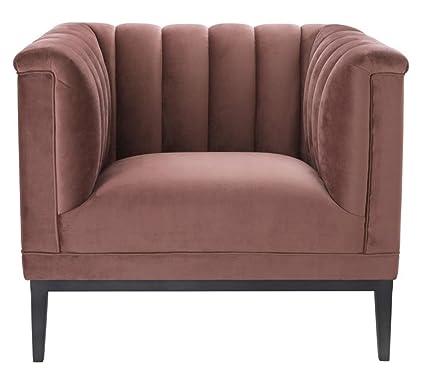 Casa-Padrino sillón de Lujo Viejo Rosa 89 x 86 x H. 75 cm ...