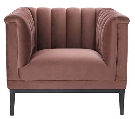 Casa Padrino sillón Viejo Rosa 89 x 86 x H. 75 cm - Muebles ...