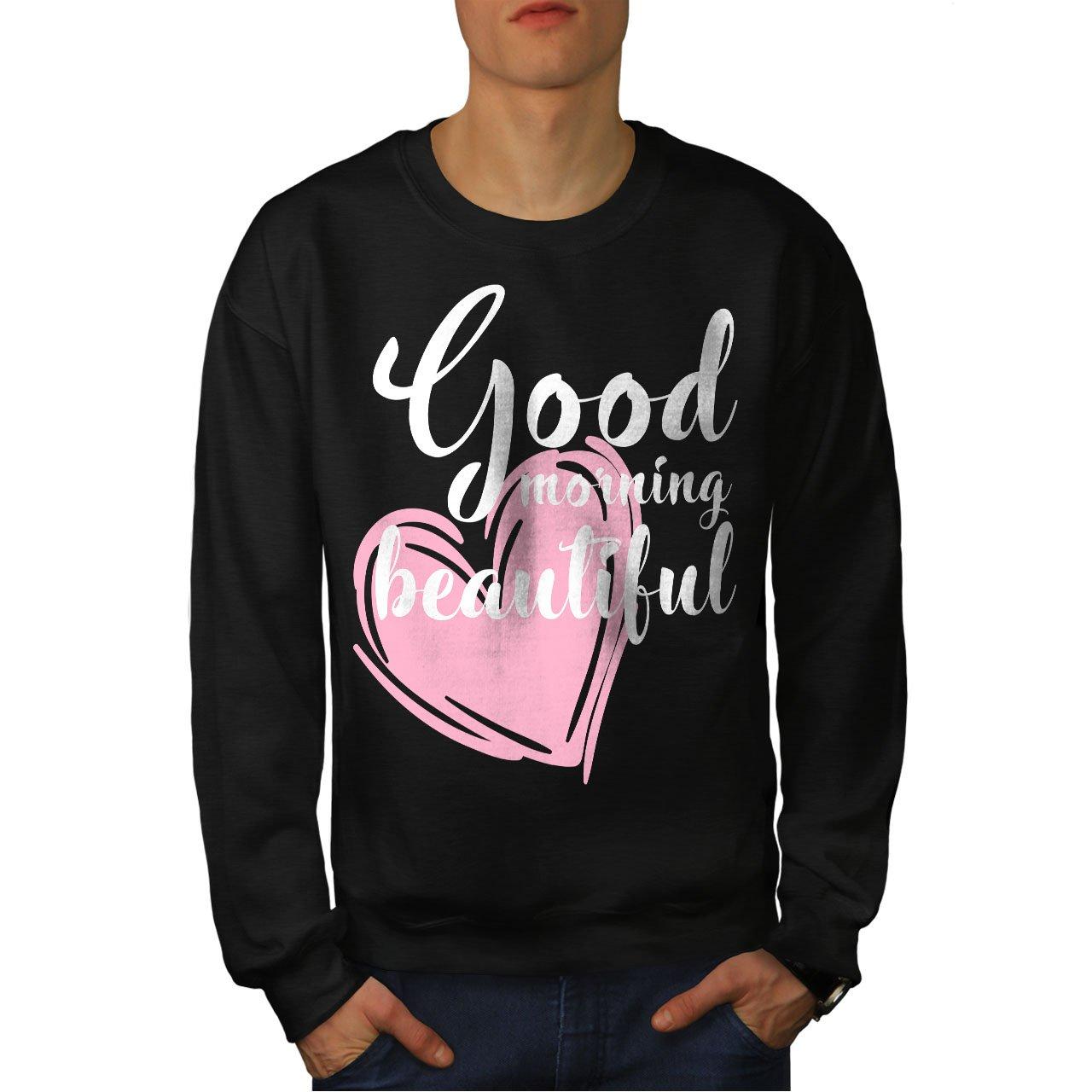 Couples Casual Jumper wellcoda Cute Love Mens Sweatshirt