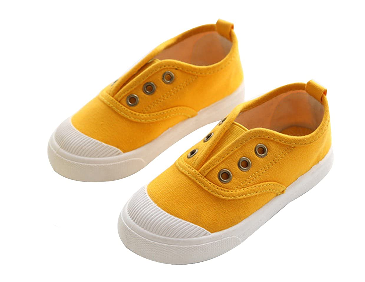 Amazon.com | Goodsneaker Fashion Kids Toddler Canvas Sneaker Shoes Slip-on Boy Girl Casual Shoes | Sneakers