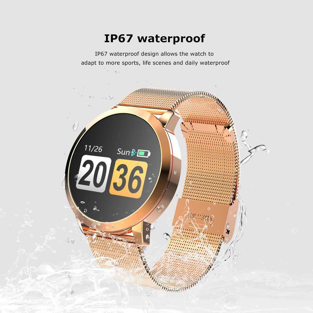 Smart klocka vattentät pulsmätning blodtrycksövervakning av blodsyre upptäcktsaktivitetsmätare D