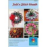 Poorhouse Quilt Designs Fold 'n Stitch Wreath Quilt Pattern