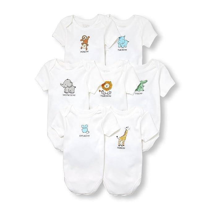 Amazon.com: El lugar de los niños bebé Niños Manga Corta ...