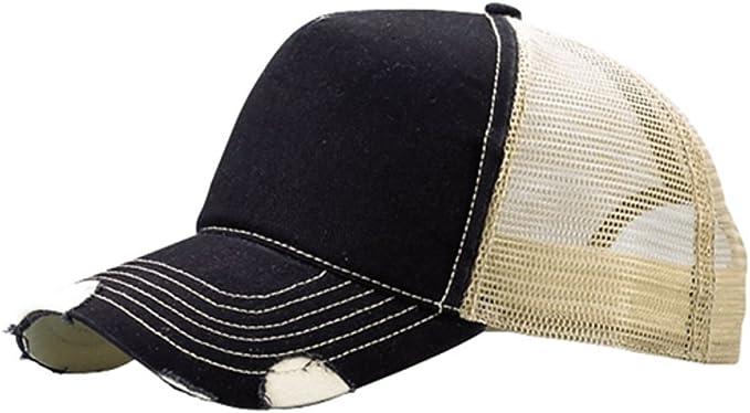 Solid Dark Purple Classic Mesh Foam Trucker Vintage Baseball Hat Hats Cap Caps