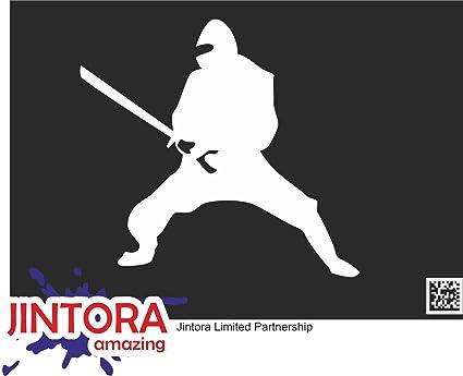 JINTORA Etiqueta para el Coche/Etiqueta engomada - Ninja ...