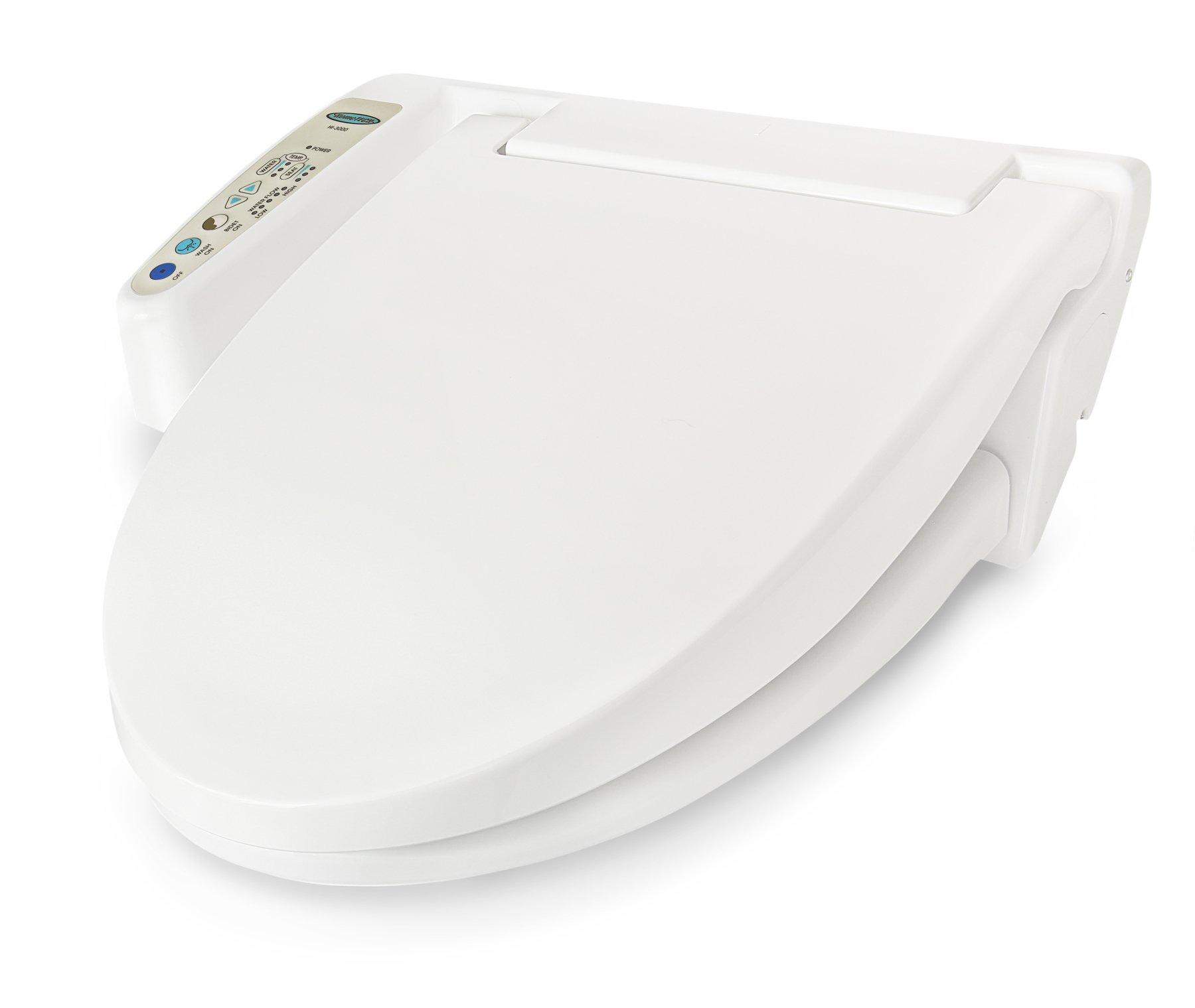 Hometech Feel Fresh HI-4000WT Round and Elongate Bidet with Warm Air Dryer White
