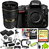 Nikon D810 DSLR Camera with Nikon 24-70mm f/2.8G Lens Outdoors Combo