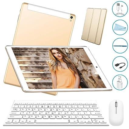 Tablet 10 Pulgadas 3GB+32GB, Octa Core,Android 7.0, Dual SIM,