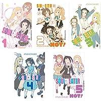 Coleção Soul Eater Not - Caixa com Volumes 1 a 5