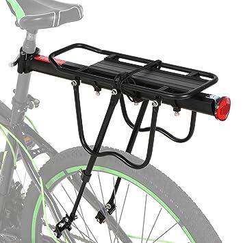 Explopur Rack de Carga de Bicicleta de aleación de Aluminio ...