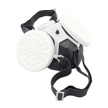 Latinaric Químico anti-polvo anti-tóxicos máscara de respiración Máscara de Seguridad