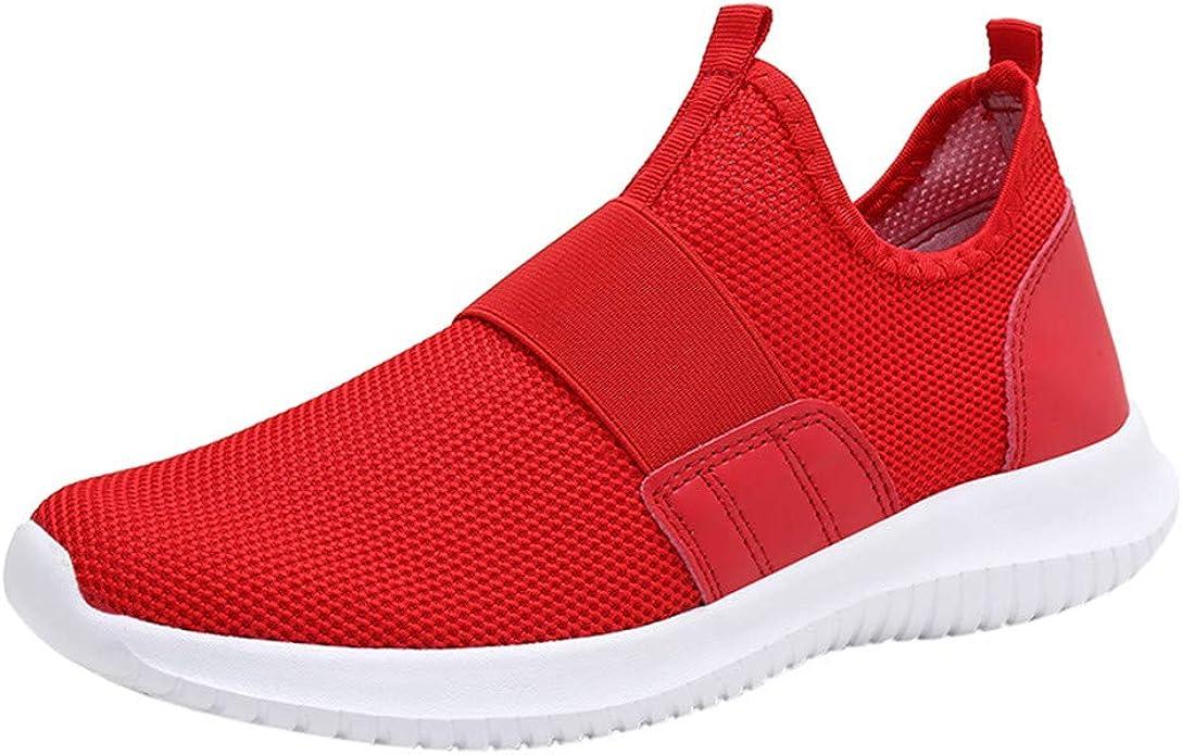 yoyorule Casual Shoes Leisure Men Flat Platform Running Spots Shoes Non-Slip Breathable Light Sneakers