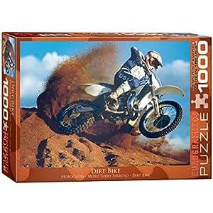 Amazon.com: Eurographics Dirt Bike – Puzzle (1000 piezas ...