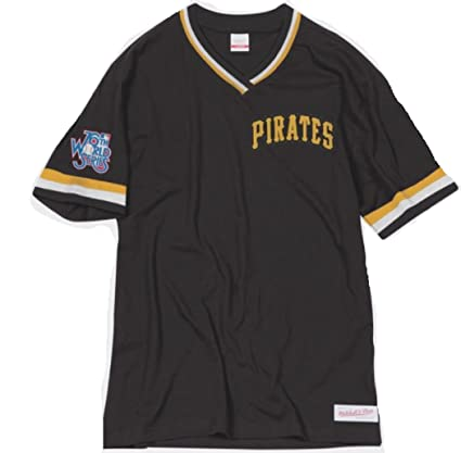 e0d9a583d Mitchell   Ness Pittsburgh Pirates MLB Men s Overtime Win Vintage Tee 2.0  ...