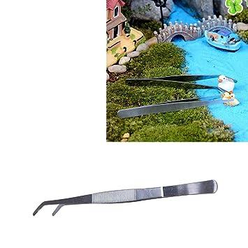 Lanbinxiang@ Pinzas de acero inoxidable para doblar herramientas de limpieza de plantas, pinzas de