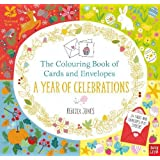 The Colouring Book of Cards and Envelopes: A Year of Celebrations (Colouring Books of Cards and Envelopes)
