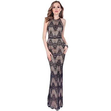 Terani Couture Lace Embellished Formal Dress Black 6 At Amazon