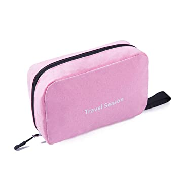 e97e90b6f653 Cosmetic Pouch Travel Toiletry Bags Hanging Waterproof Compact Portable Cosmetic  Bag Organizer Dopp Kit Makeup Bag