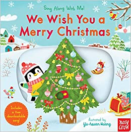 amazoncom we wish you a merry christmas sing along with me 9780763696122 nosy crow yu hsuan huang books