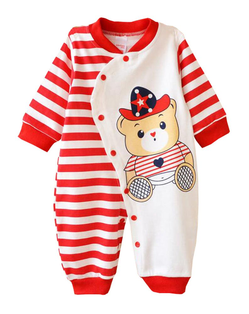 East Majik Baby Boy Girl Romper Jumpsuit Cotton Clothes Outfit