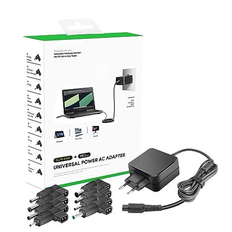 Cargador Universal HKY 45 W 9 en 1, Adaptador para portátil ...