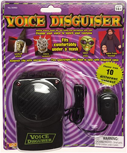Deluxe Voice Changer (Forum Novelties Voice Disguiser with Microphone)
