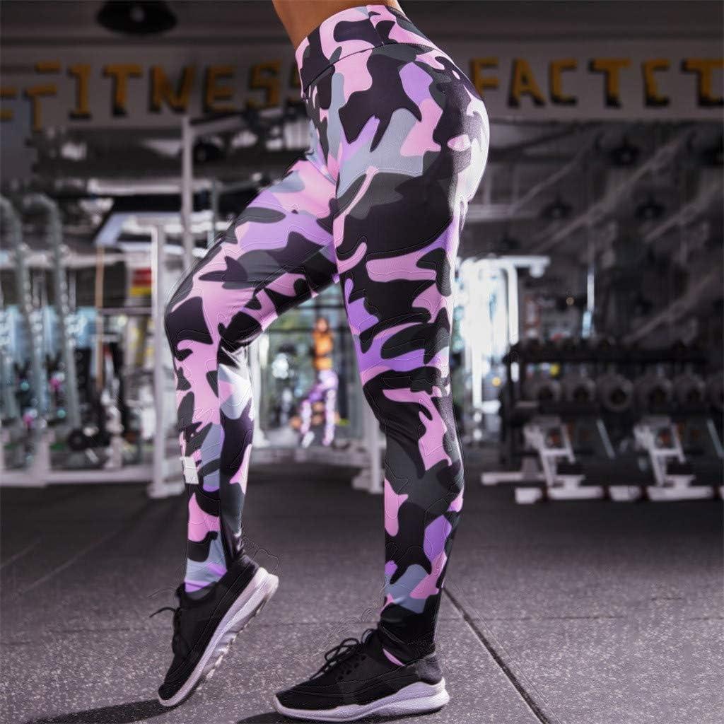 Pink, M YunZyun Women High Waist Yoga Pants Tummy Control Workout Pant Sports Stretch Leggings Running Fitness Suit Sport Gym Cycling