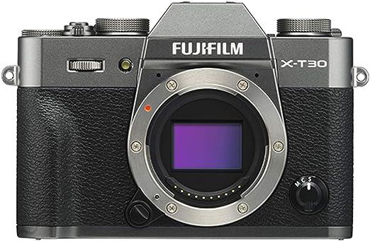 Amazon.com : Fujifilm X-T30 Mirrorless Digital Camera, Charcoal Silver (Body Only) : Camera & Photo