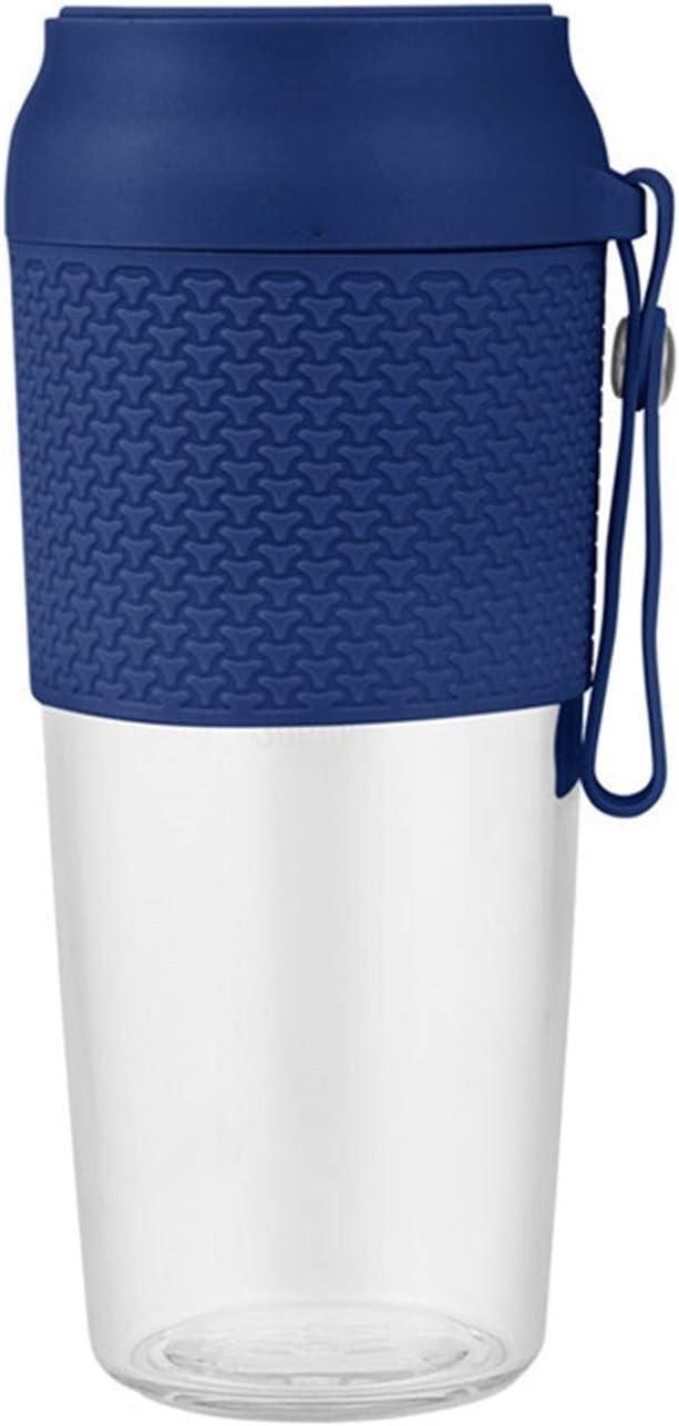 LOMAX Rápido Portátil Blender Portátil Mini USB Recargable Juicio de Juicio Juicer Juicería Máquina Máquina Fruta Extractor Juicing Botella Juicing Copa Jugo casero (Color : Blue)