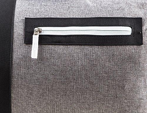 Sporttasche für Damen Herren | Outhorn TPU631 | graue Reisetasche | Fitnesstasche für Gym Fitness | Unisex | Schultertasche 27 L