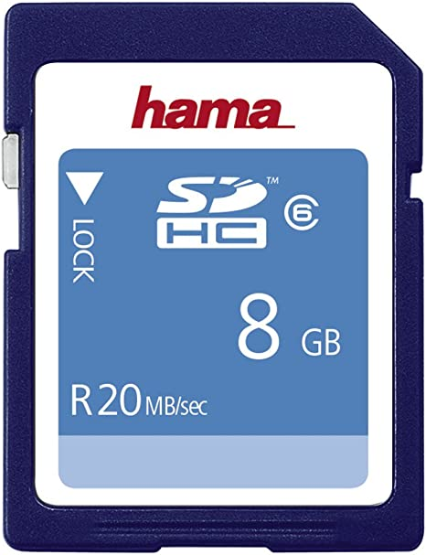 Hama 8GB SDHC 8GB SDHC memory card