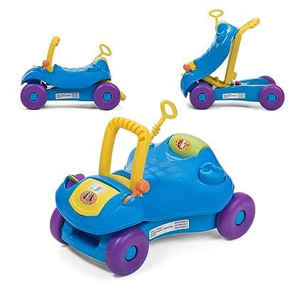 Baby Vivo Correpasillos Coche Andador Para Bebés Niños 2en1 Infantil Juguete Niño Multifuncional - Azul