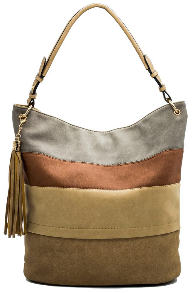 Handbags for women totes Hobo Shoulder Bags Tassels Stripes Top Handle Bags gift for valentine's day