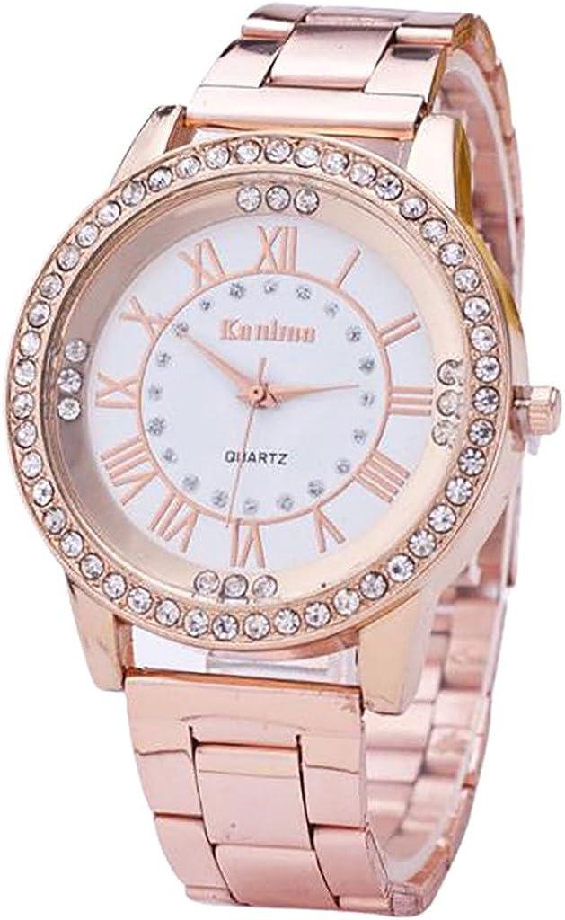 Relojes para Las Mujeres, ZODOF Reloj de Pulsera de Reloj de Cuarzo analógico de Cuarzo de Dama analógico clásico